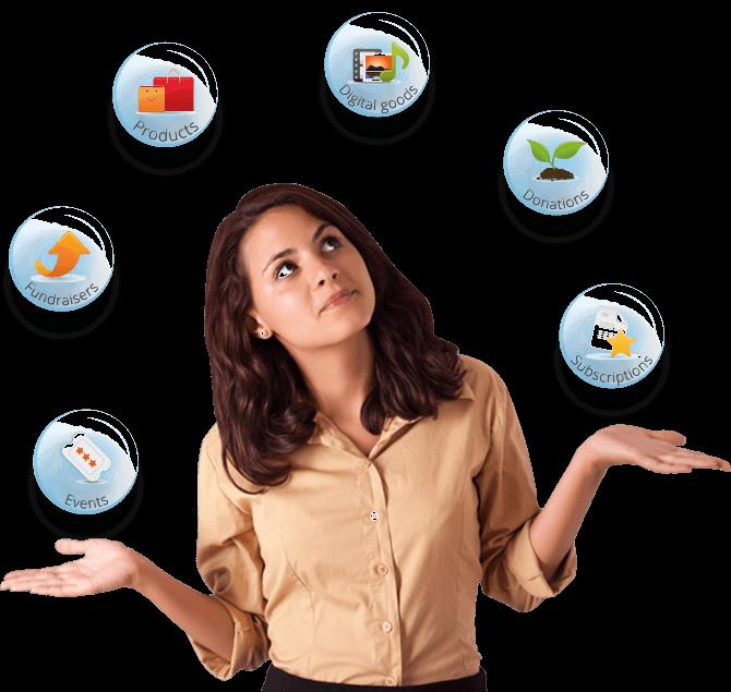 Santu ist die beste E-Commerce-Lösung für viele verschiedene Produkttypen