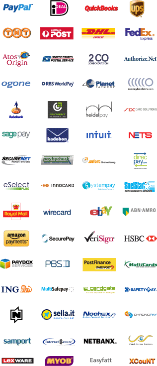 Santu has partnered with the best eCommerce solution providers all around the world